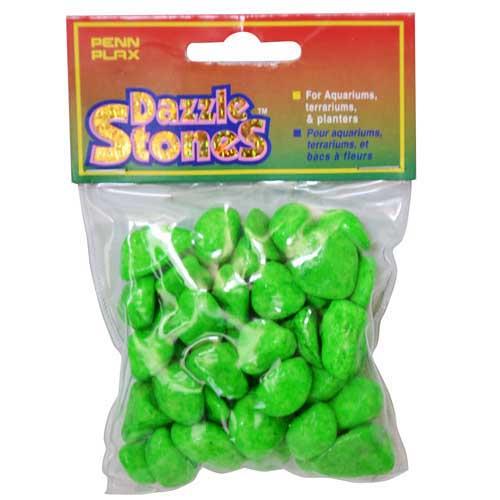 PENN PLAX Dekorační kamínky zelené medium 220g