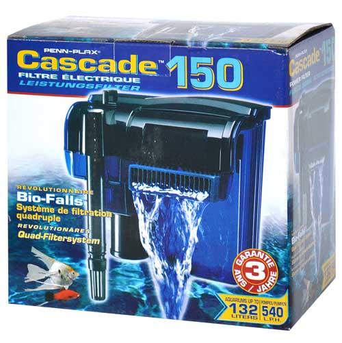 PENN PLAX CASCADE 150 540l/h do 132l vnější závěsný akváriový filtr
