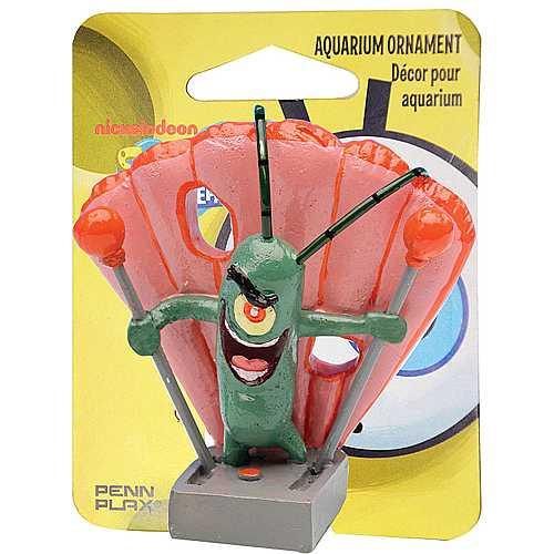 PENN PLAX SPONGEBOB Dekorace Plankton 5cm