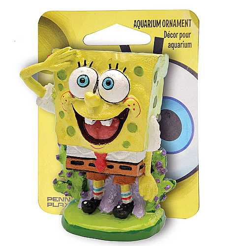 PENN PLAX SPONGEBOB Dekorace SpongeBob v kalhotách 5cm