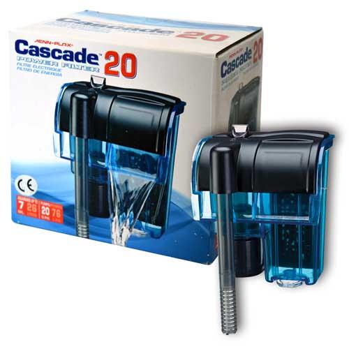 PENN PLAX CASCADE 20 Mini 80l/h do 26l vnější závěsný akváriový filtr