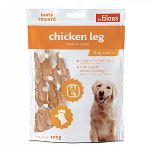 LES FILOUS CHICKEN LEG 100g kuřecí stehna