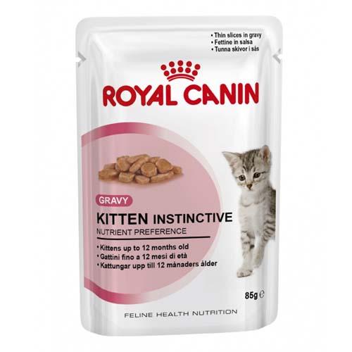ROYAL CANIN KITTEN INSTINCTIVE IN GRAVY 85g