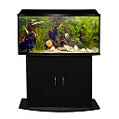 ATLANTIC OVAL--80 zaoblené akvárium 98l s výbavou a stolkem 81x36x107cm