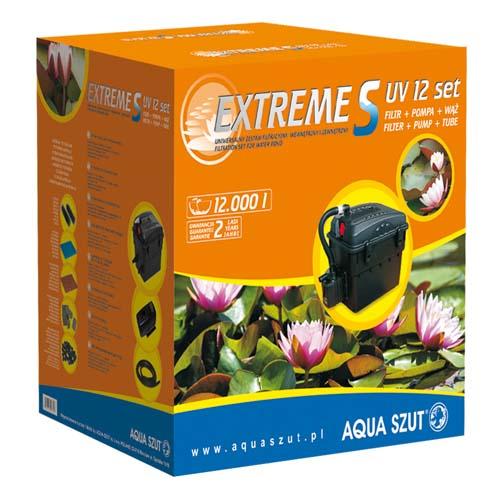 AQUA SZUT EXTREME S 12 SET obsahuje UV 9W + čerpadlo PO 001 + hadici + 3 trysky