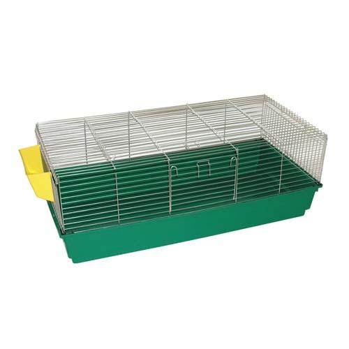 COBBYS PET RABBIT 120 klec pro králíky 120 x 60 x 44cm s krmítkem