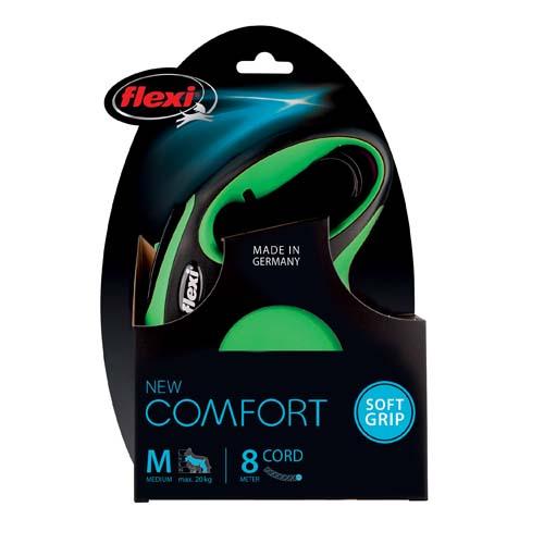 flexi Comfort lanko M 8m/20kg zelené NEW