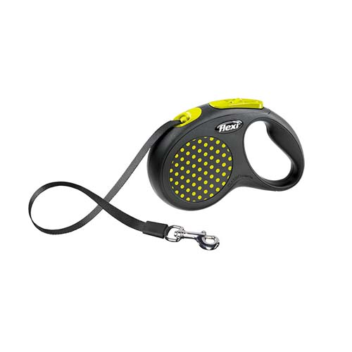 flexi Design popruh S 5m/15kg žluté
