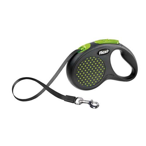 flexi Design popruh M/L 5m/50kg zelené