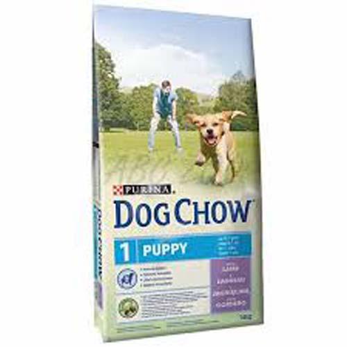 PURINA DOG CHOW PUPPY jahňací a ryža 14kg