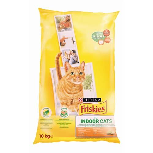 FRISKIES INDOOR 10kg granule pro kočky
