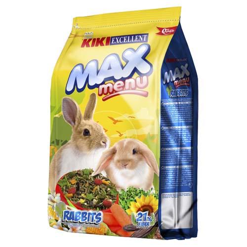 KIKI MAX Menu Rabbit 1kg krmivo pro králíky
