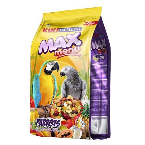 KIKI MAX Menu Parrots 800g velké papoušky