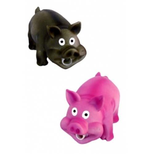 PAPILLON usmátá prasátka 16 cm latexové hračky pro psy