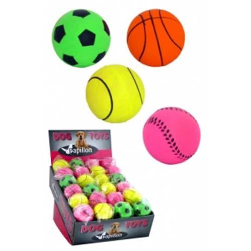 PAPILLON Gumové neonové míče 6 cm