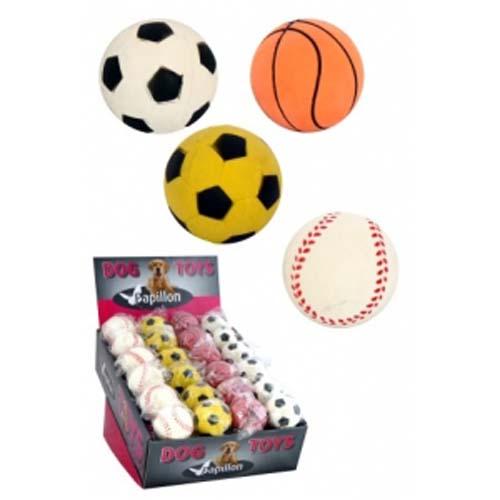 PAPILLON Rubber sponge balls 6cm Gumové míče