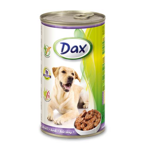DAX konzerva pro psy 1240g jehně