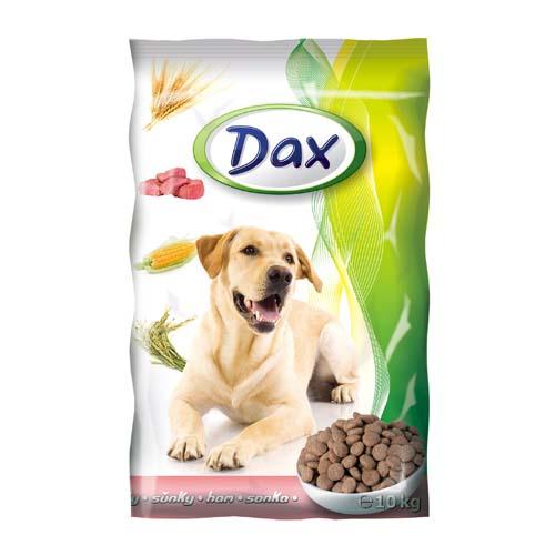 DAX Dog Dry 10kg Ham granulované krmivo pro psy šunka