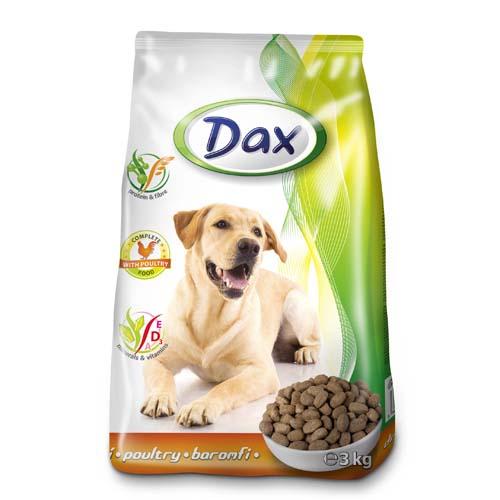DAX Dog Dry 3kg Poultry granulované krmivo pro psy drůbež