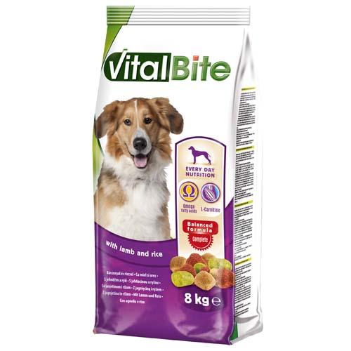 VitalBite granule pro psy 8 kg jěhne a rýže