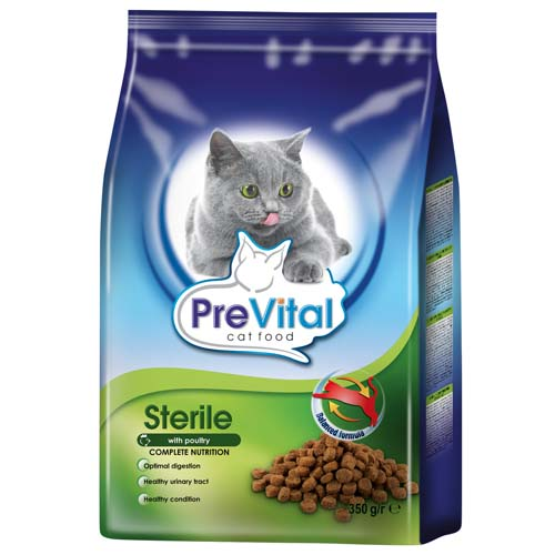 PreVital granule pro kastrované kočky 350g