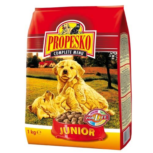 PROPESKO JUNIOR 1kg granule pro štěňata