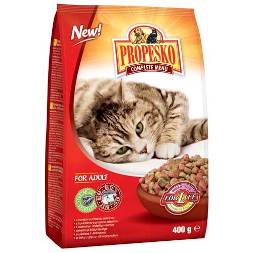 PROPESKO Granule kočky hovězí a zelenina 400g