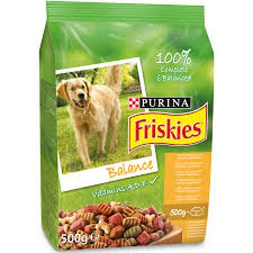 FRISKIES BALANCE Kuře a Zelenina 500g granule pro psy