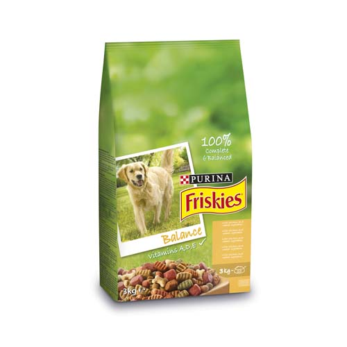 FRISKIES BALANCE 3kg kuře a zelenina granule pro psy
