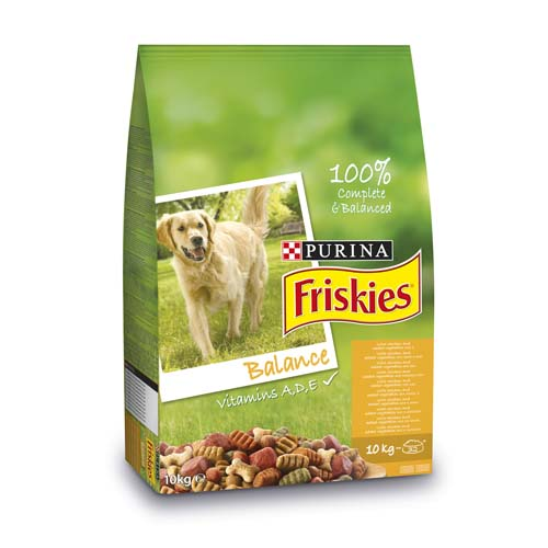 FRISKIES BALANCE 10kg kuře a zelenina granule pro psy