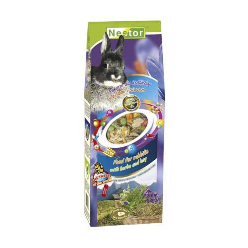 NESTOR Krmivo pro králiky s bylinami a senem 700ml
