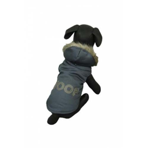 PAPILLON Jacket Woof 25cm Mikina pro psa s nápisem Woof