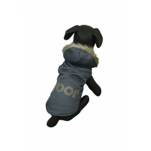 PAPILLON Jacket Woof 40cm Mikina pro psa s nápisem Woof