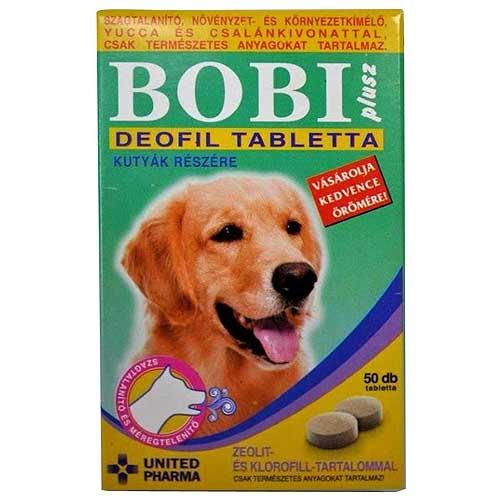 BOBI PLUS DEOFIL tabletky 50ks na odstranění nepřijemného zápachu těla a úst
