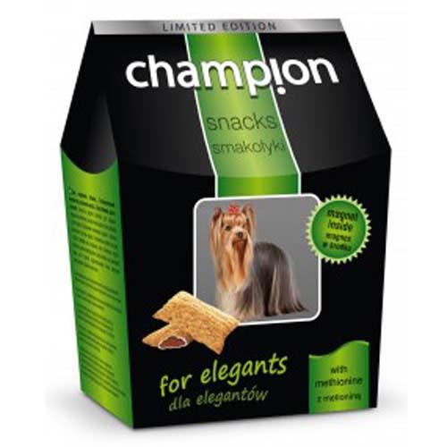 "CHAMPION \""for elegants\"" with methionine- Psí pamlsky s methioninem pro krásnou srst 50g"