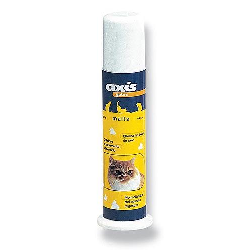 AXIS Malt for Cats 100ml maltózový pasta pro kočky brání tvorbě chomáčů srsti v zažívacím traktu