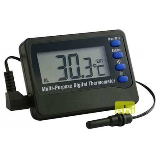 EBI Digitální teploměr s alarmem -50 - +70° C
