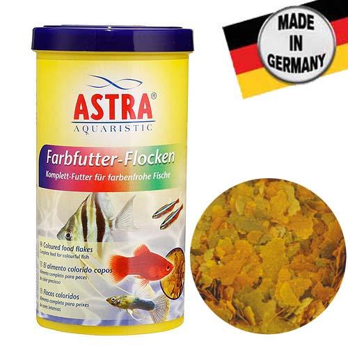 ASTRA FARBFUTTER FLOCKEN 250 ml vločkové krmivo podporující vybarvení