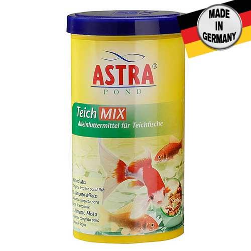 ASTRA TEICH MIX 1 l kombinované krmivo směs vloček, pelet, měkkýšů a korýšů