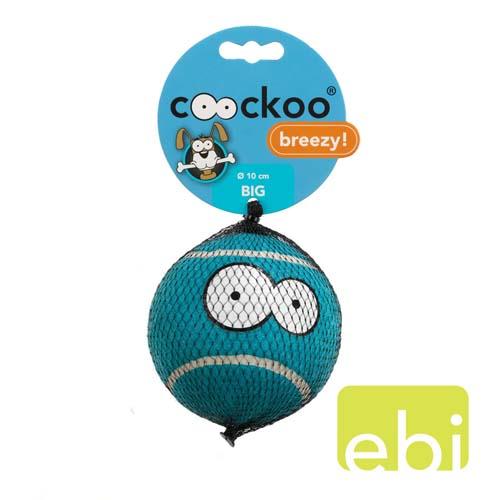 EBI COOCKOO tenisový mič velmi velký 10,25 cm modrý