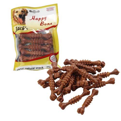 EBI Happy Bone Mini Bacon 12 x 75mm 100g slanina