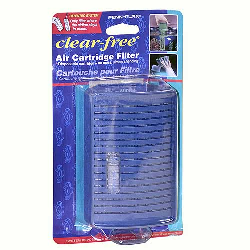 PENN PLAX Filter Clear-Free Small rohový filtr do 40l