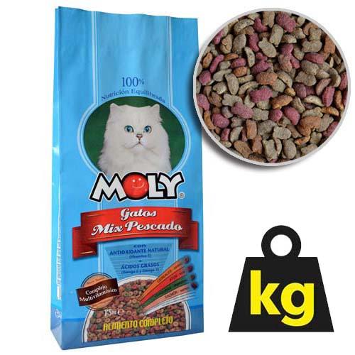 MOLY CAT FISH 29/15 1,5kg rybací krmivo pro kočky