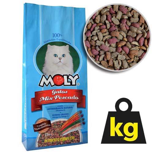MOLY CAT FISH 29/15 20kg rybací krmivo pro kočky