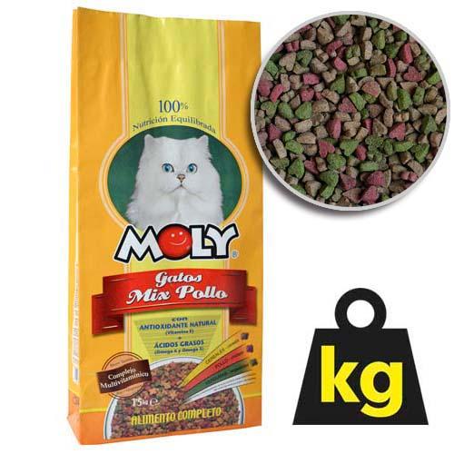 MOLY CAT CHICKEN 29/15 1,5kg kuřecí krmivo pro kočky
