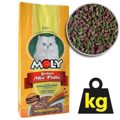MOLY CAT CHICKEN 29/15 20kg kuřecí krmivo pro kočky