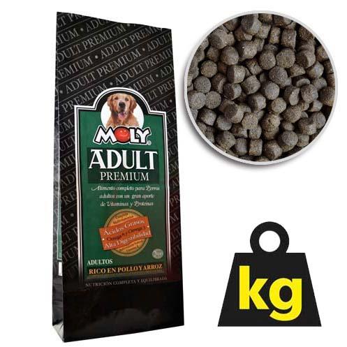 MOLY PREMIUM ADULT 29/15 2kg prémivé krmivo pro dospělé psy