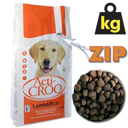 ACTI-CROQ LAMB&RICE 26/12 4kg speciální krmivo pro citlivé psy jehně s rýží
