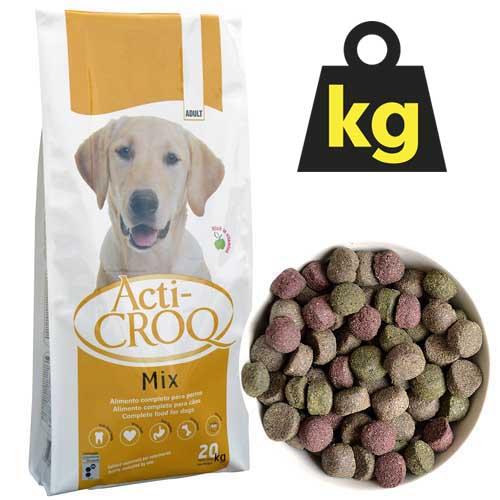 ACTI-CROQ MIX 24/11 20kg plnohodnotné barevné krmivo pro dospělé psy všech plemen