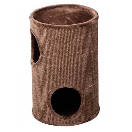 EBI TREND CAT-DOME EVERLAST-TOWER 37x37x 56cm brown 2-LEVEL